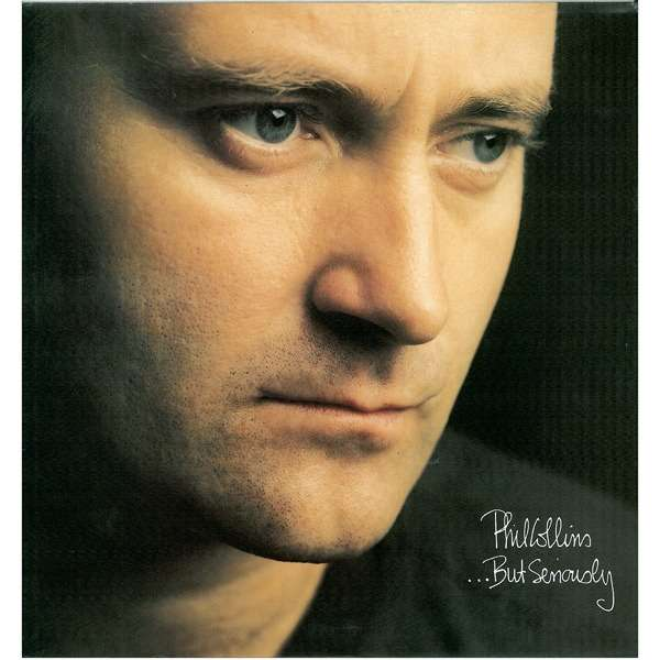 phil collins ...BUT SERIOUSLY -with innersleeve-