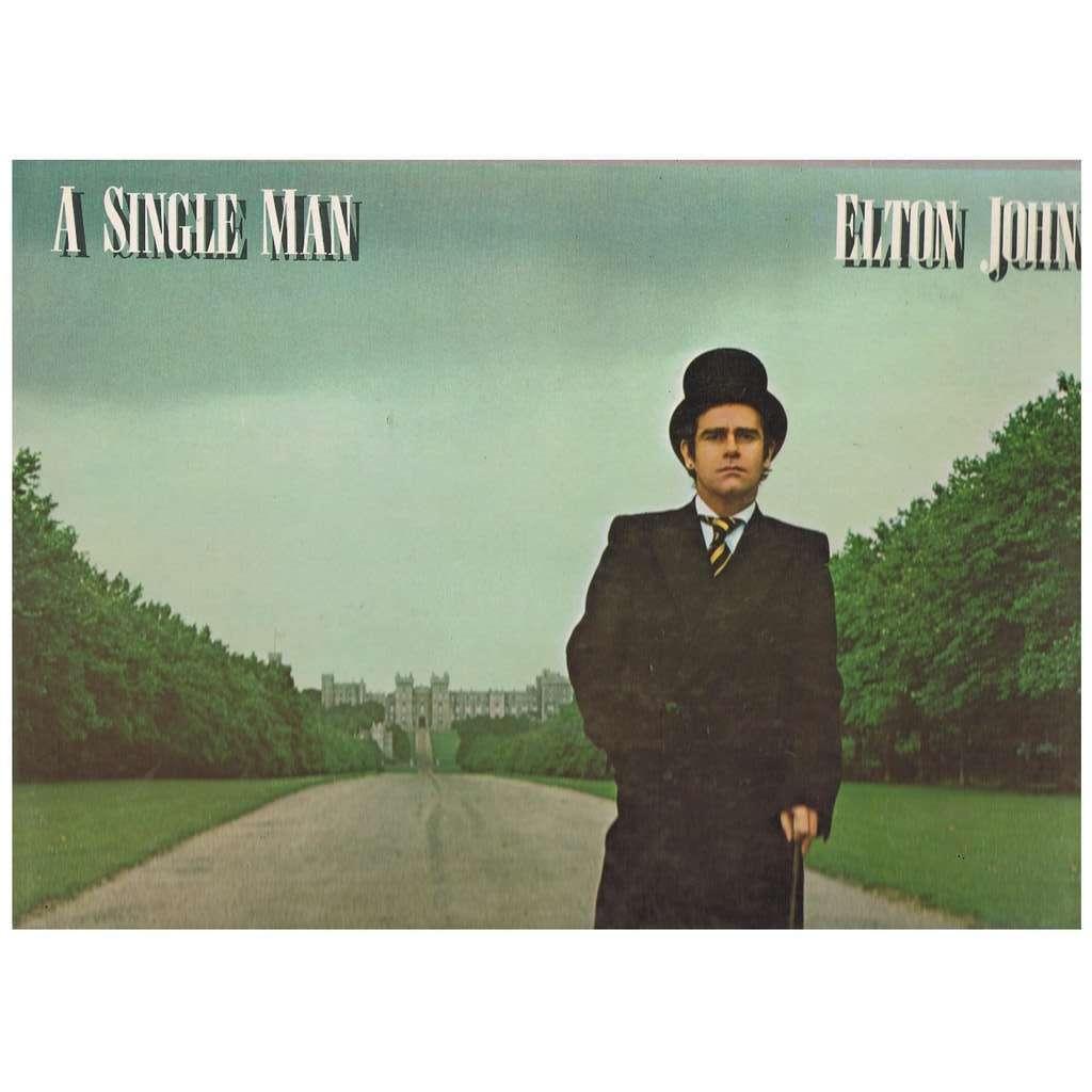 ELTON JOHN A SINGLE MAN -with original innersleeve-