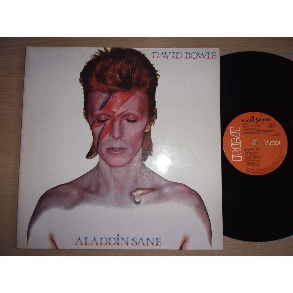 David Bowie aladdin sane ( fr - (b) )