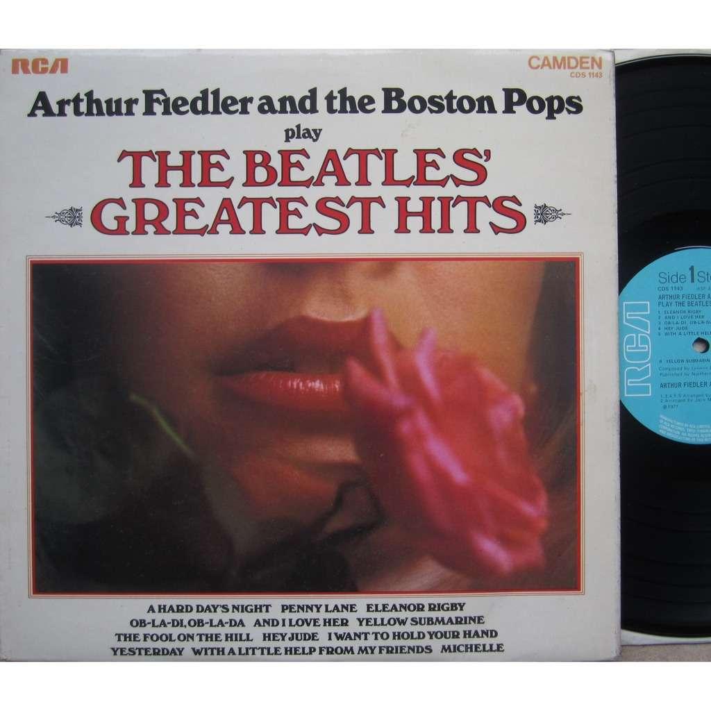 arthur fiedler & boston pops play the beatles greatest hits
