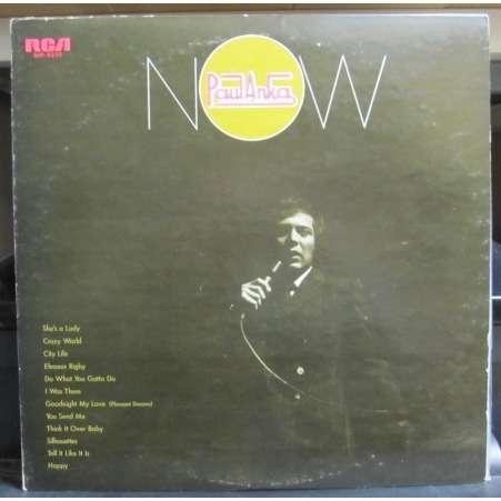 Paul Anka Now -white label promo-