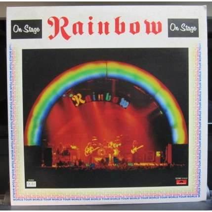 Rainbow ON STAGE *w/booklet