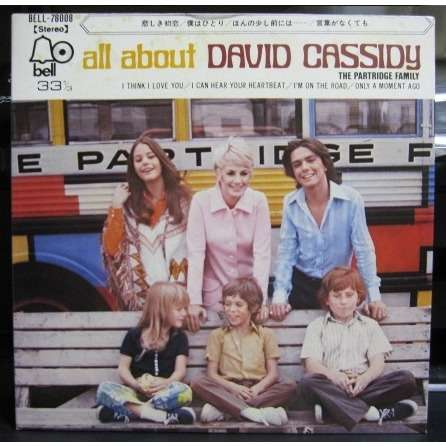 Partridge Family All About David Cassidy