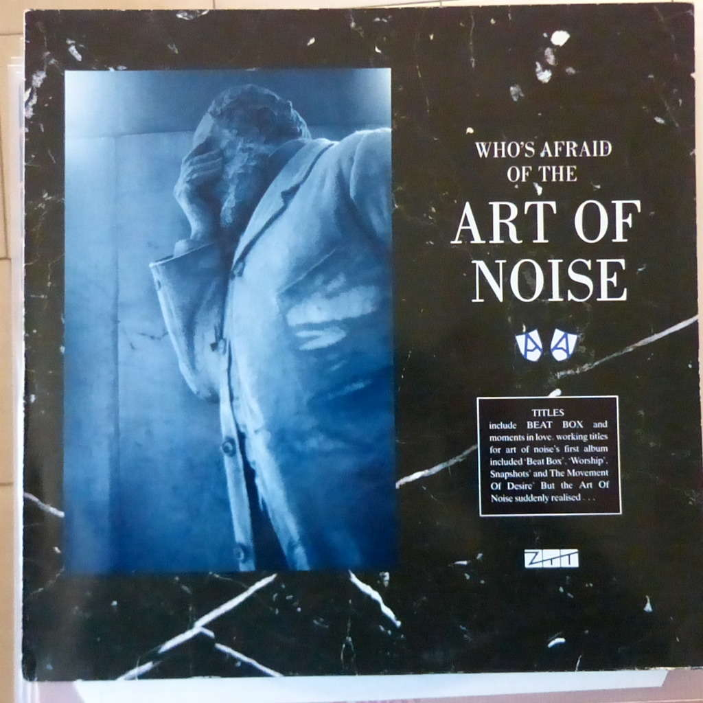 Whos Afraid Of By The Art Of Noise Lp With Blackcircle Ref