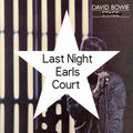DAVID BOWIE - Last Night Earls Court (2xlp) Ltd Edit Colour Vinyl -E.U - 33T x 2