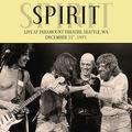 SPIRIT - Live At Paramount Theatre, Seattle, WA December 31st 1971 (lp) - 33T