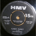 THE MOHAWKS - Funky funky parts 1 & 2 - 7inch (SP)