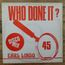 EARL LINDO - Who done it - Maxi 45T