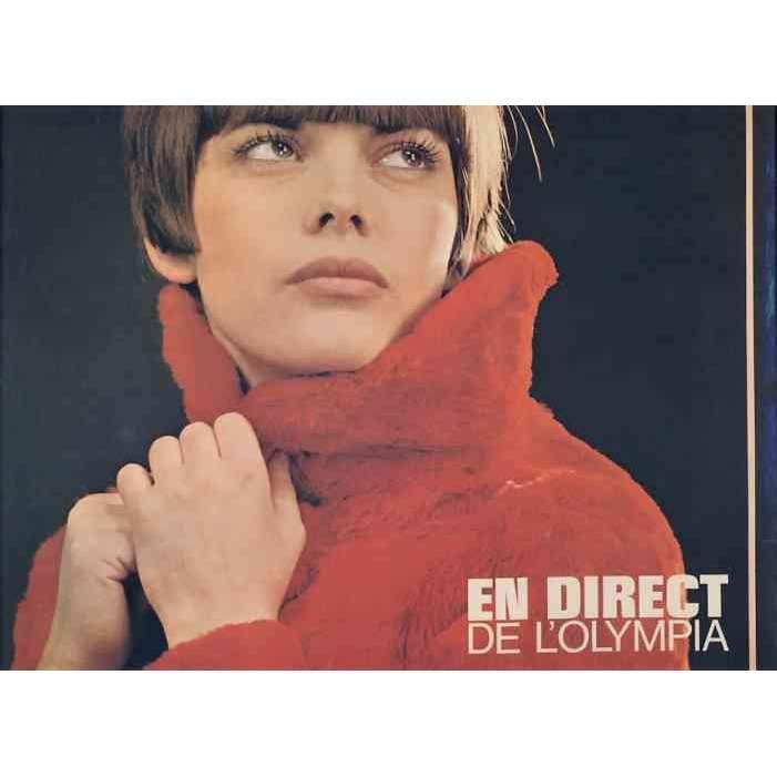 Mireille Mathieu En direct de l'Olympia. Son premier grand disque. avec le poster.: Mon credo