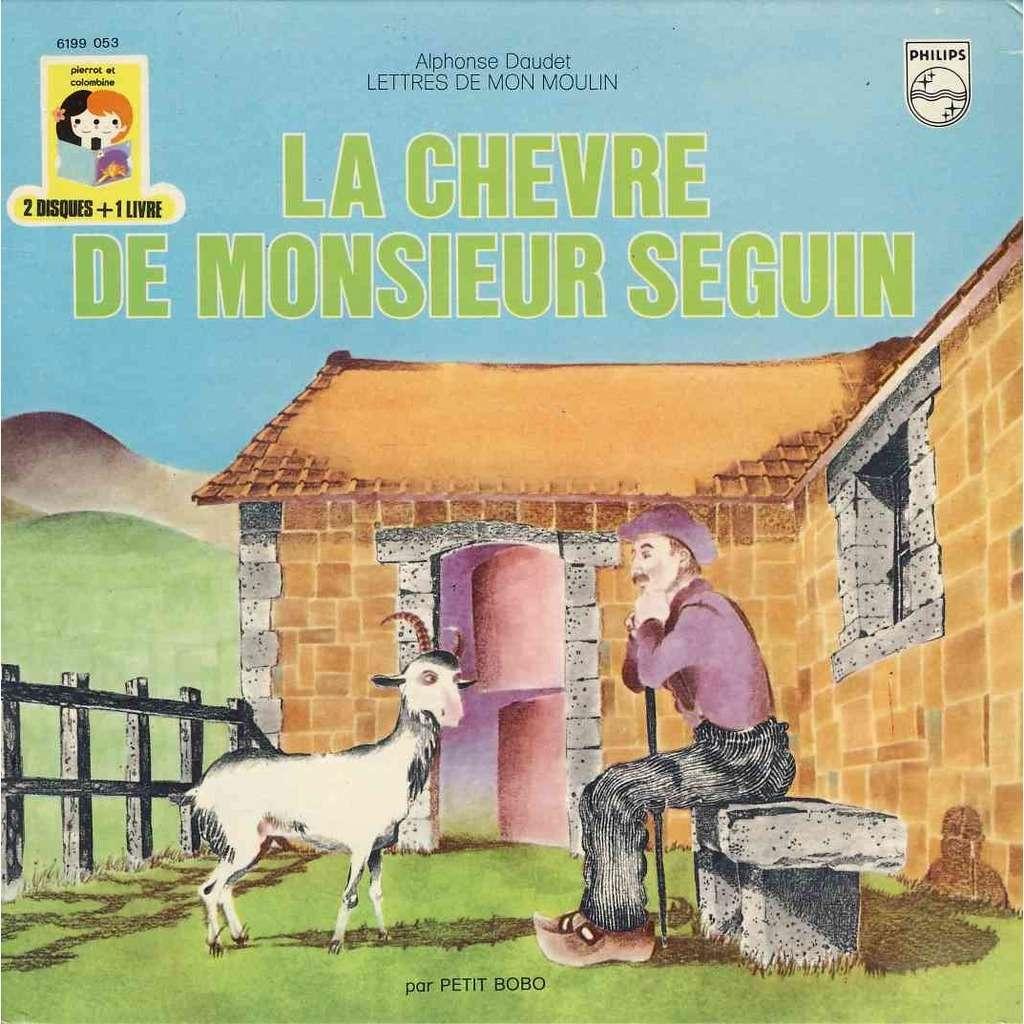 Petit Bobo La chevre de Monsieur Seguin 2 disques 1 livre Pochette ouvrante
