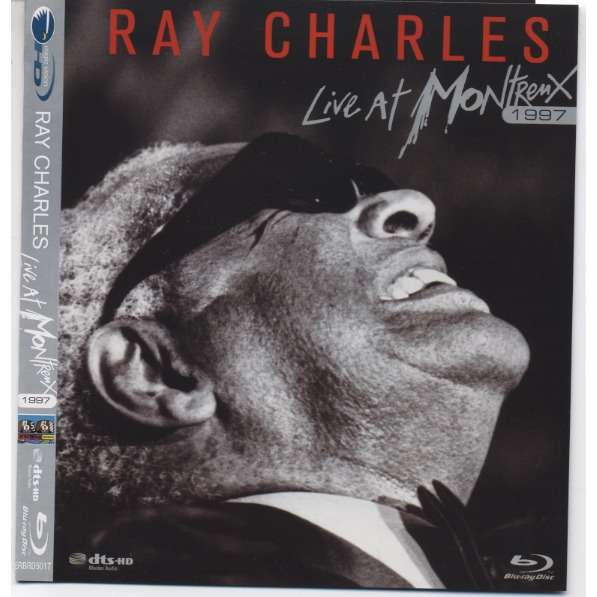 ray charles singers Live at Montreux - 1997 (Bluray) (+ BONUS)