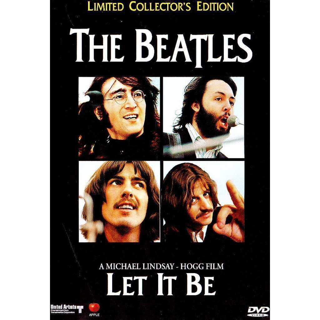 BEATLES - LET IT BE (THE FAMOUS MICHAEL LINDSAY LET IT BE MOVIE + LET IT BE NAKED + SPECIAL BONUS VIDEO)