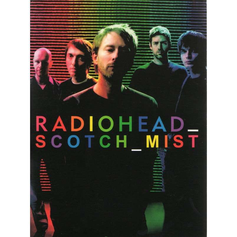 RADIOHEAD - SCOTCH MIST (THE SCOTCH MIST MOVIE + PINKPOP FESTIVAL, LANDGRAAF, HOLLAND, MAY, 27, 1996)