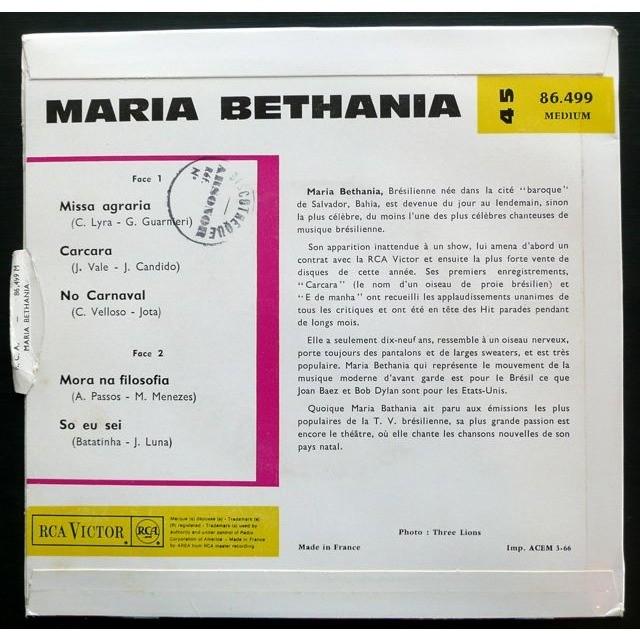 Maria Bethania Missa Agrária