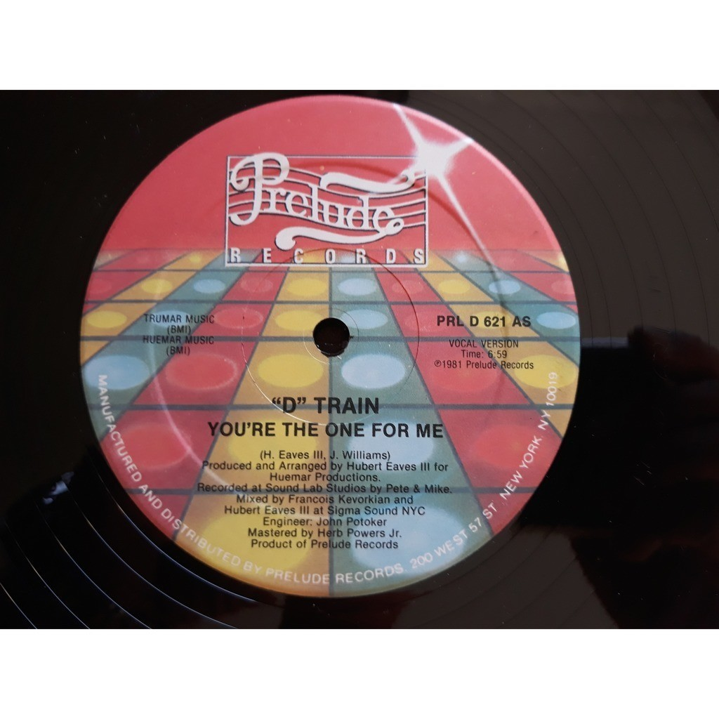 D Train* - You're The One For Me (12, Ter) 1981 D Train* - You're The One For Me (12, Ter) 1981