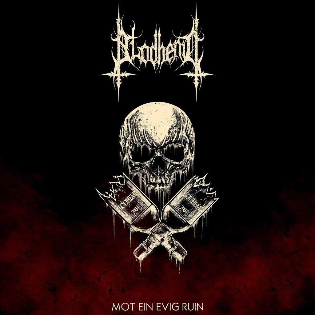BLODHEMN Mot Ein Eivg Ruin. Black Vinyl