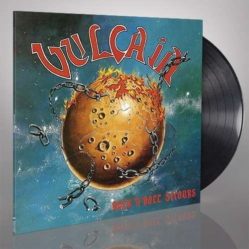 VULCAIN Rock'n'Roll Secours. Black Vinyl