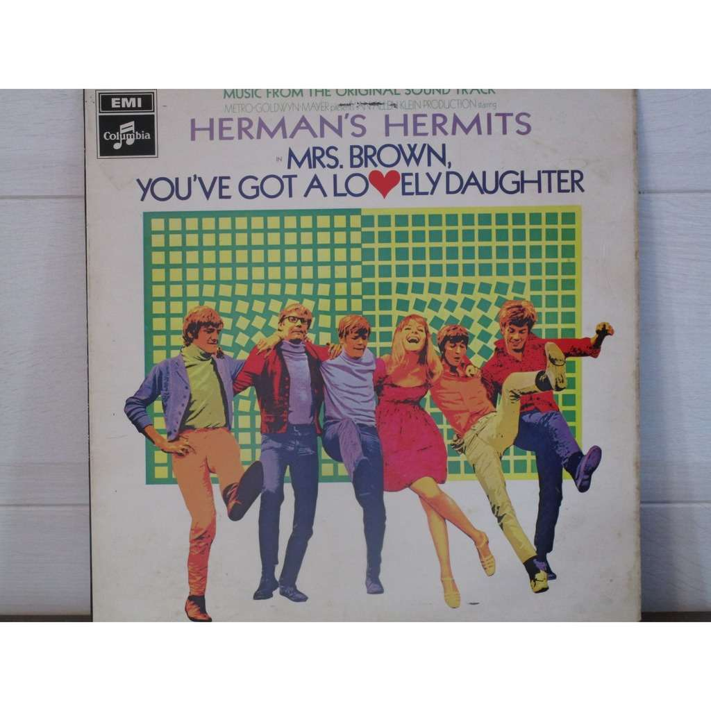 HERMANS HERMITS mrs brown,you've got a lovely daughter