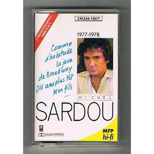 SARDOU MICHEL 1977 - 1978 : comme d'abitude + 10