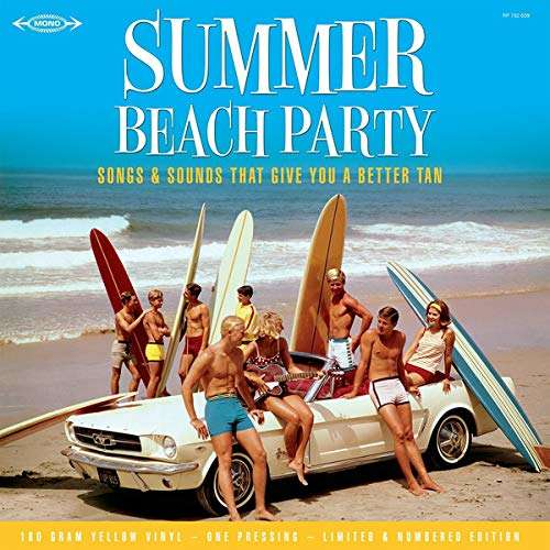 Beach Boys / Chris Montez / Marvin Gaye ... Summer Beach Party : Songs And Sounds That Give You A Better Tan