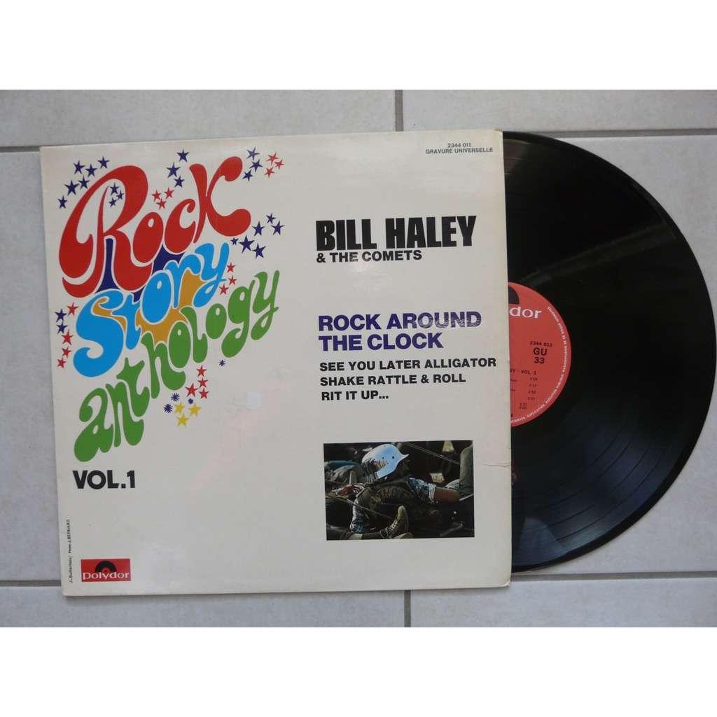 BILL HALEY & THE COMETS ROCK STORY ANTHOLOGY VOL.1.France