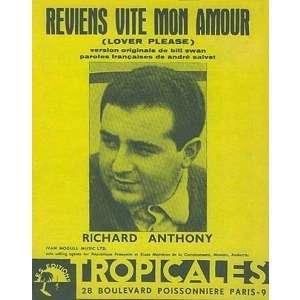 richard anthony reviens vite mon amour