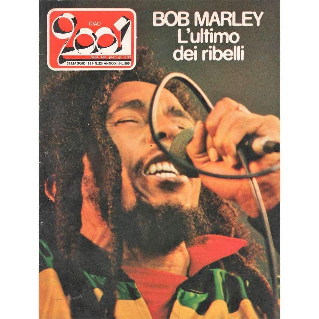 Bob Marley Ciao 2001 (31.05.1981) (Italian 1981 Bob Marley front cover music magazine!!)