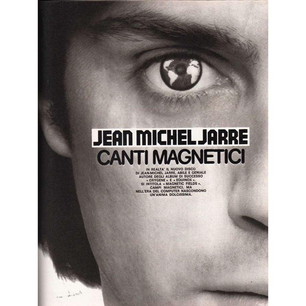 Jean Michel Jarre Ciao 2001 (23.08.1981) (Italian 1981 music magazine!!)