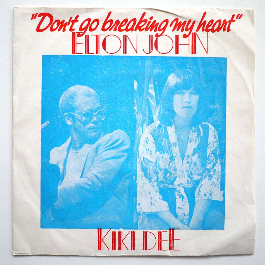 elton john & kiki dee DON'T GO BREAKING MY HEART - TURKEY