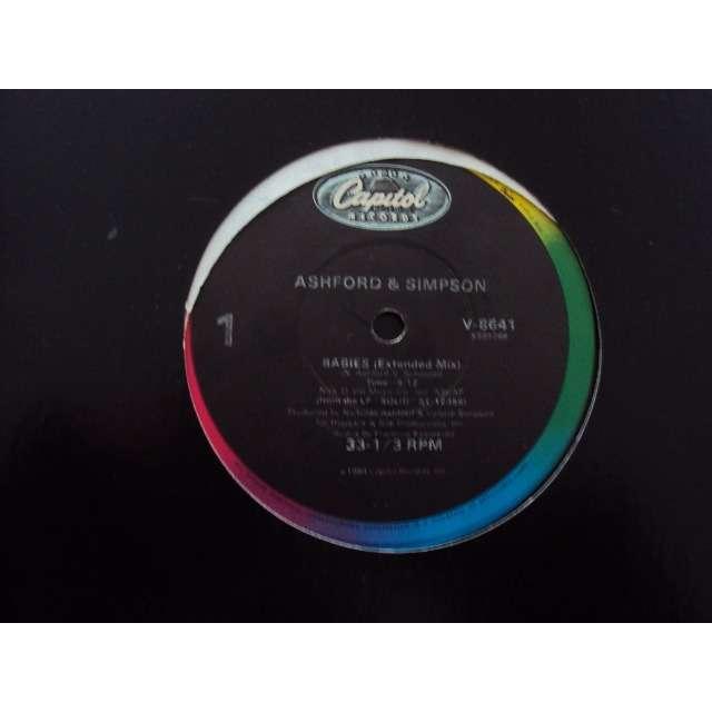 Ashford & Simpson Babies (Extended mix) 1984 USA