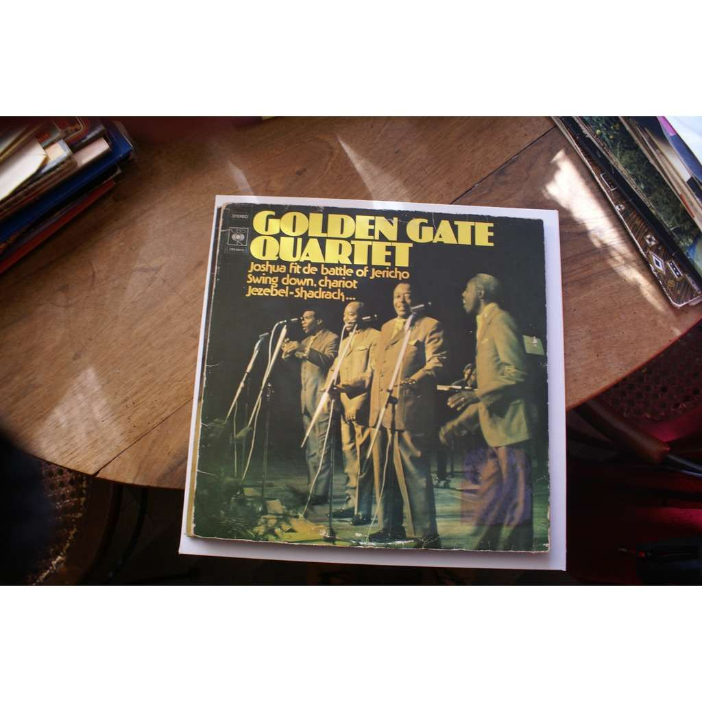GOLDEN gate quartet joshua fit de battle of jericho