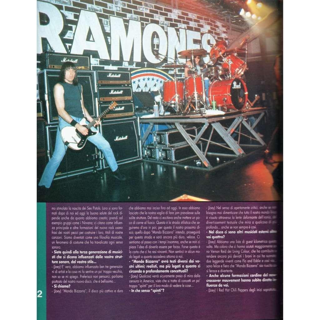 Ramones H/M (Year VII N.127 1992) (Italian 1992 music magazine!!)