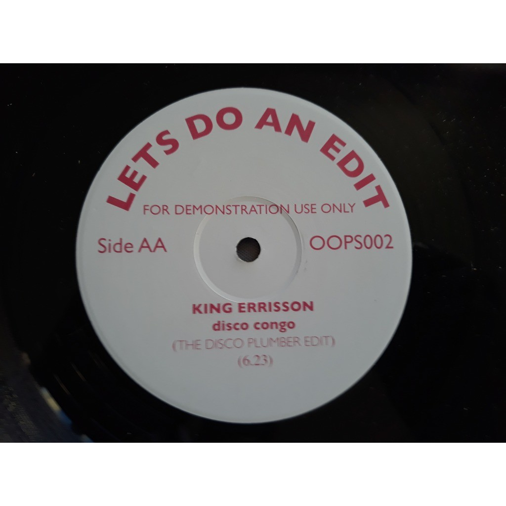 Ronnie Dyson / King Errisson All Over My Face / Disco Congo