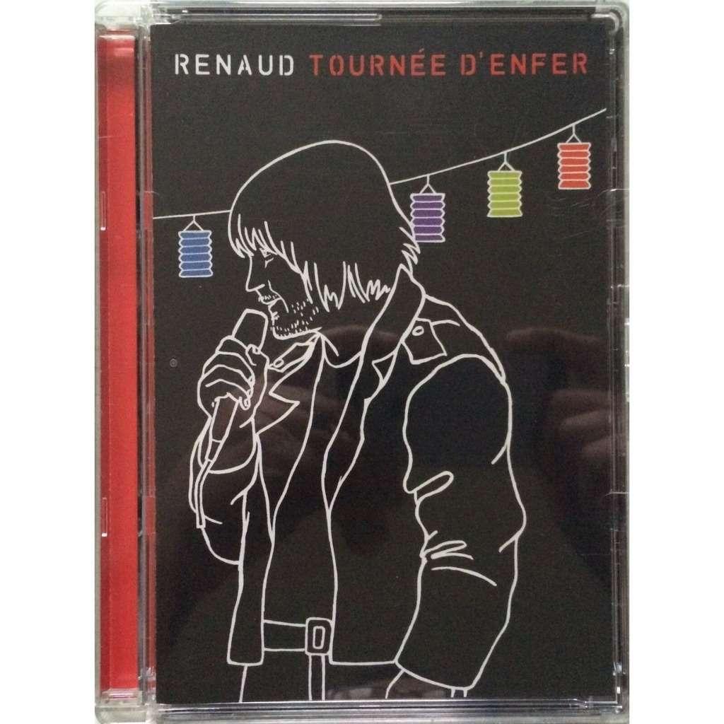 RENAUD - TOURNEE D'ENFER (EURO PRESSING 1 DVD)