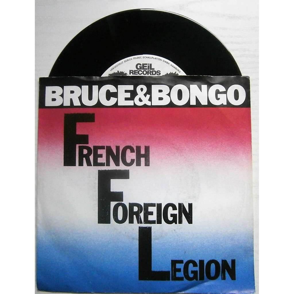 bruce & bongo french foreign legion