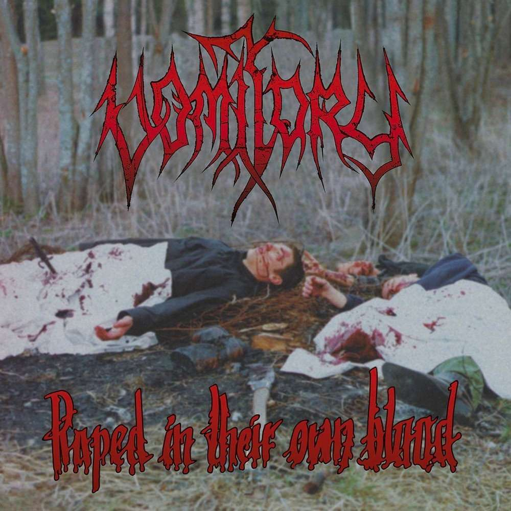 VOMITORY Raped In Their Own Blood. Black Vinyl