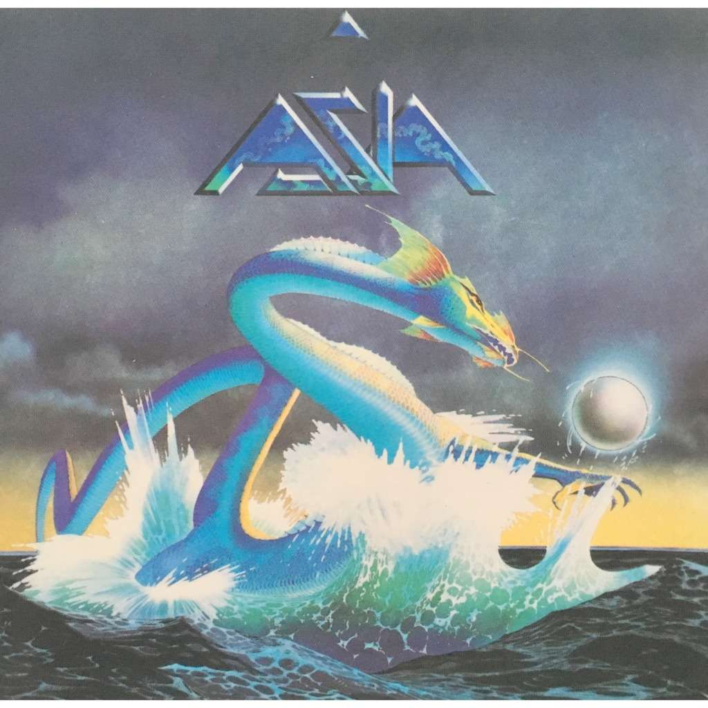 ASIA - S/T (GER. PRESSING 1 CD)