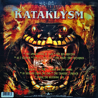 KATAKLYSM Serenity in Fire