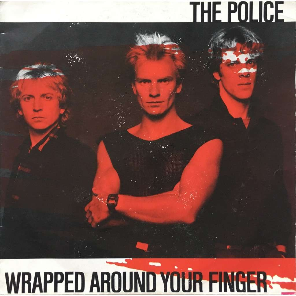 THE POLICE - WRAPPED AROUND YOUR FINGER (DUTCH PRESSING 2 TRK VINYL 7 SINGLE)