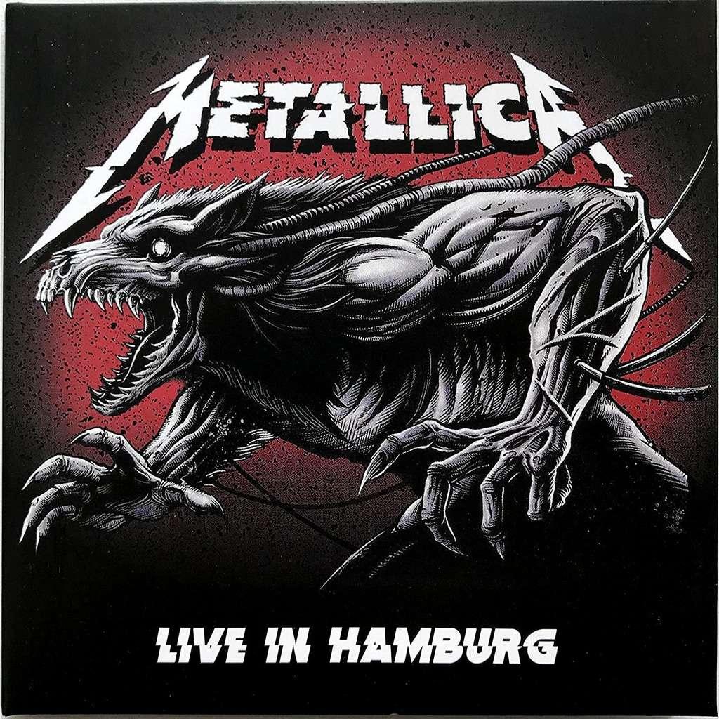 METALLICA Live In Hamburg Germany 2018 Bonus Mannheim Worldwired Tour 2cd digipak