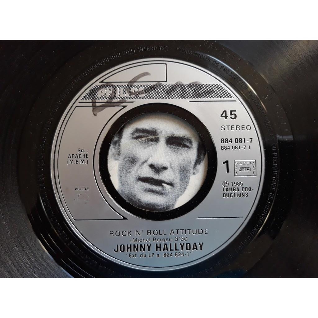 Johnny Hallyday - Rock'N'Roll Attitude (7, Single Johnny Hallyday - Rock'N'Roll Attitude (7, Single)