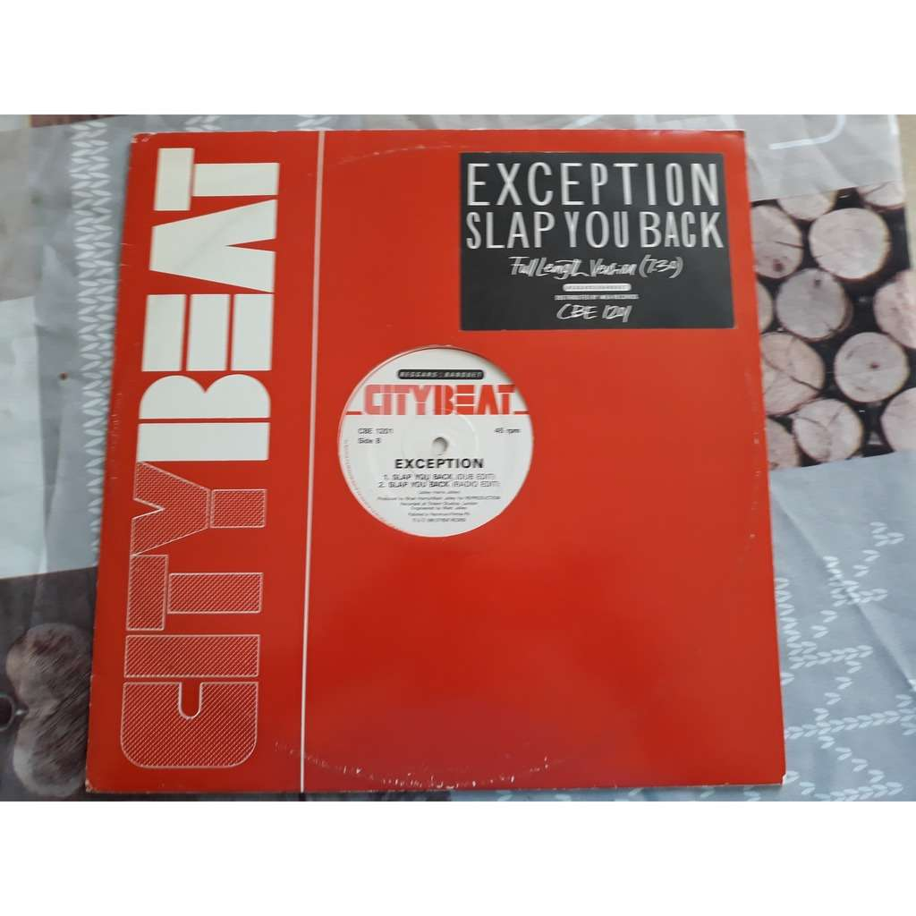 Exception - Slap You Back (12) Exception - Slap You Back (12)