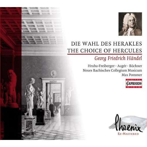 Händel, Georg Friedrich The Choice of Hercules / Leipzig New Bach Collegium Musicum, Leipzig University Choir, Max Pommer