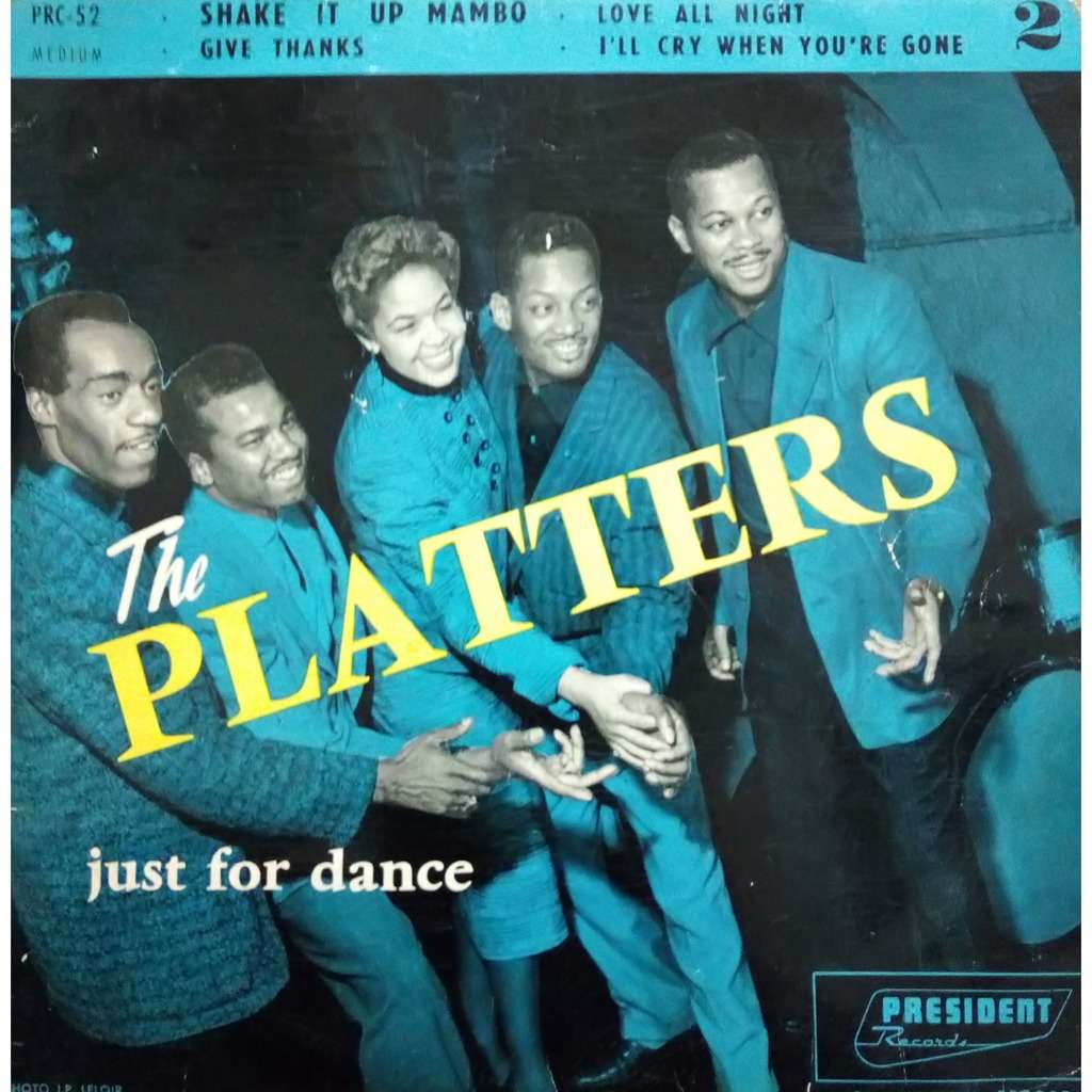 THE PLATTERS just for dance