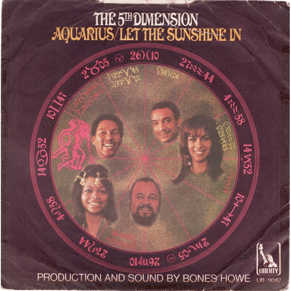 The 5th Dimension Aquarius / Let The Sunshine In