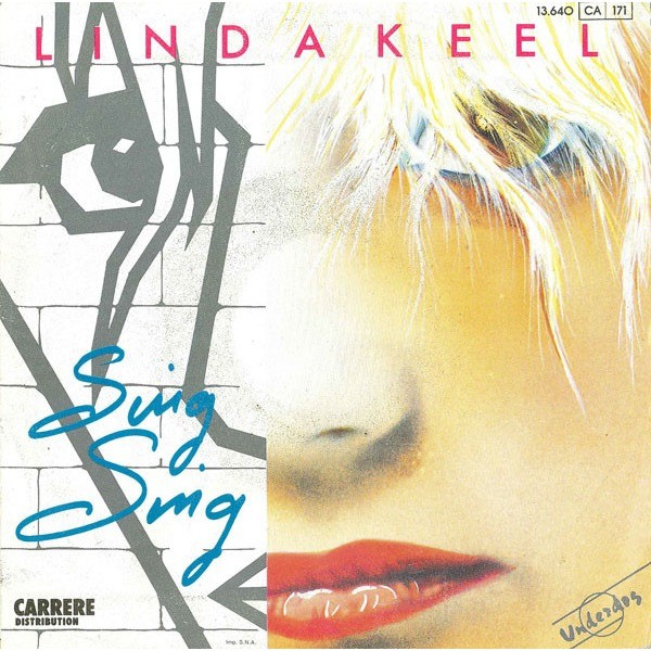 LINDA KEEL - LEAVING BERLIN (FR. PRESSING 2 TRK VINYL 7 SINGLE)