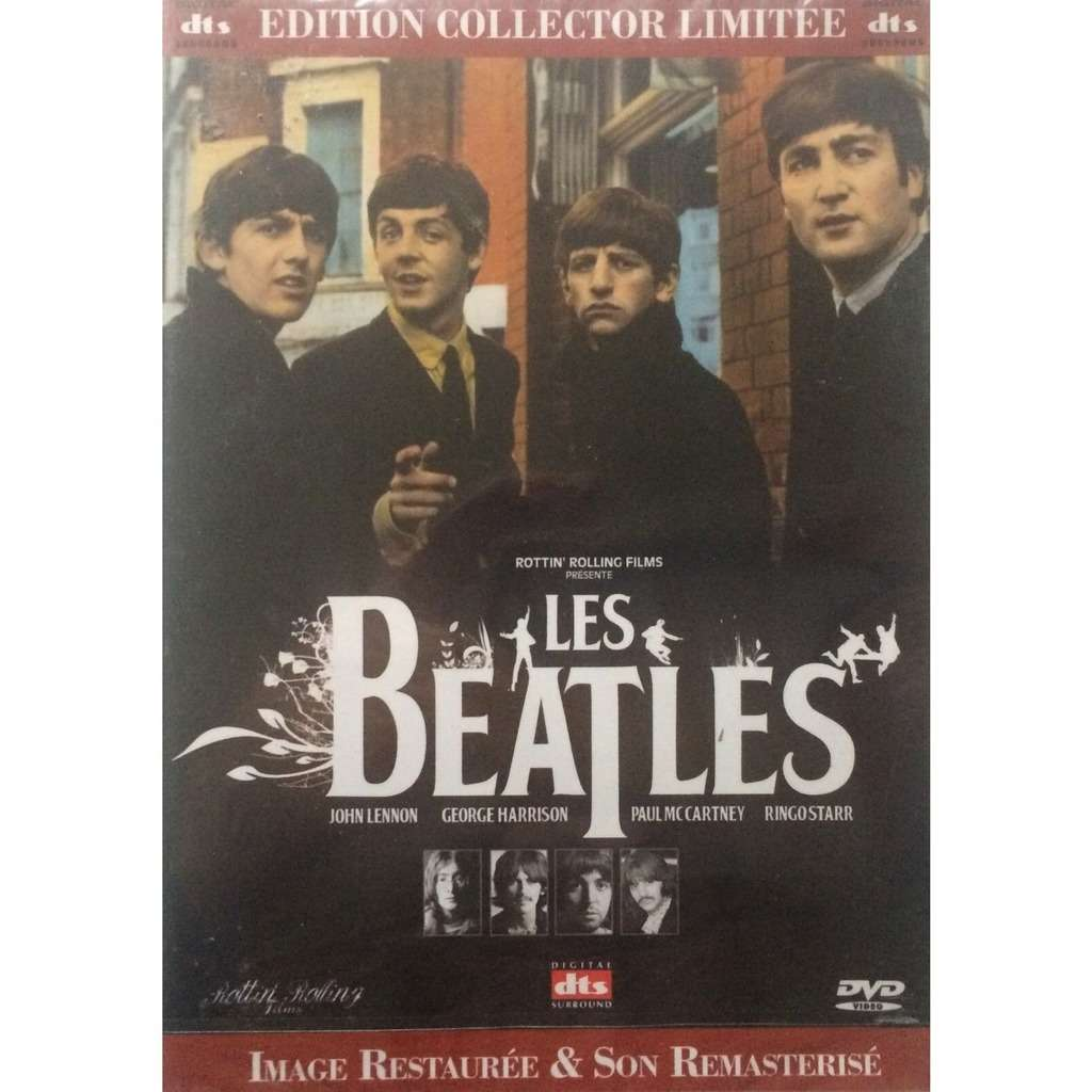 BEATLES - LES BEATLES (SEALED FR. PRESSING 1 DVD LIMITED COLLECTOR EDITION)