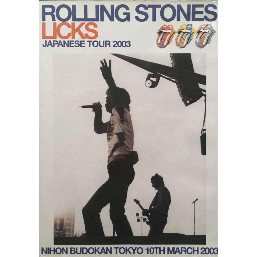 ROLLING STONES - JAPANESE TOUR 2003 (NIHON BUDOKAN, TOKYO, JAPAN, MARCH, 10, 2003)