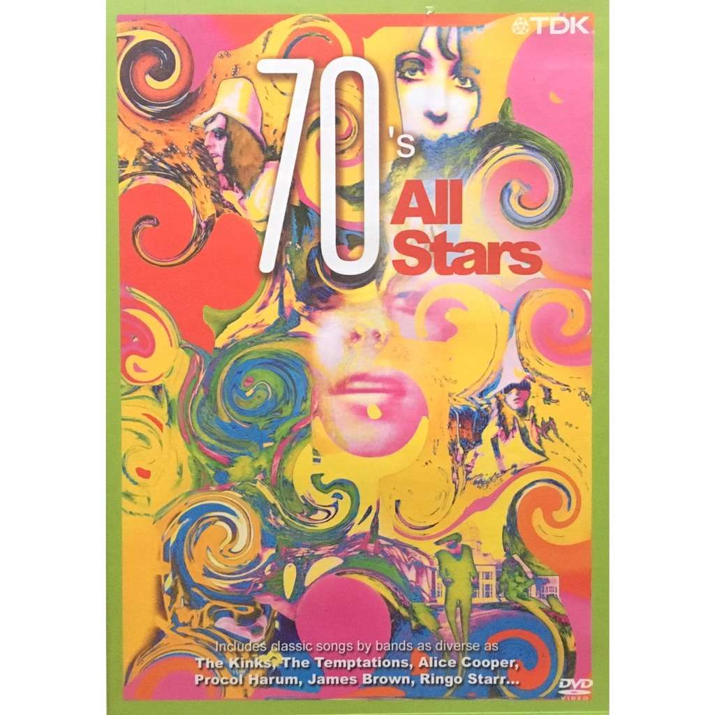 VARIOUS ARTISTS - 70's ALL STARS (GER. PRESSING 1 DVD)
