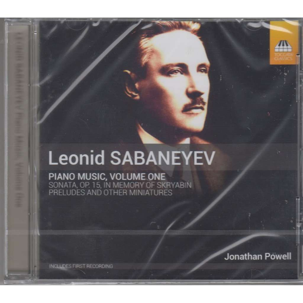 JONATHAN POWELL LEONID SABANEYEV Piano Music Volume One CD NEW